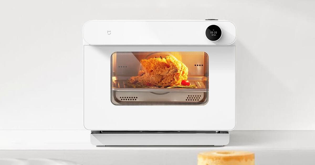فرن Mijia Smart Steaming Oven الذكي احصلي علي اكل صحي ومطهي بعناية